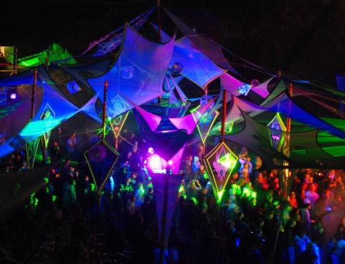 Goaparty und Kunst – Technokunst für Discos & Nightclubs