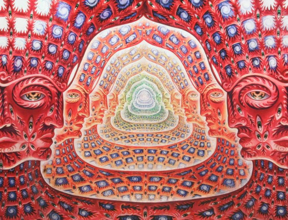Psychedelische Kunst – Leinwandbilder und Poster
